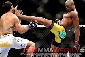 Dana White Not Making Anderson Silva's Next Fight Yet, but Title Talk is There