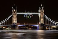 &lt;p&gt;Tower Bridge adorned with the Olympic Rings is seen on late July 25, two days before the start of the London 2012 Olympic Games. An expectant London is preparing to launch the greatest sporting show on earth with excitement reaching fever pitch hours ahead of the opening ceremony.&lt;/p&gt;