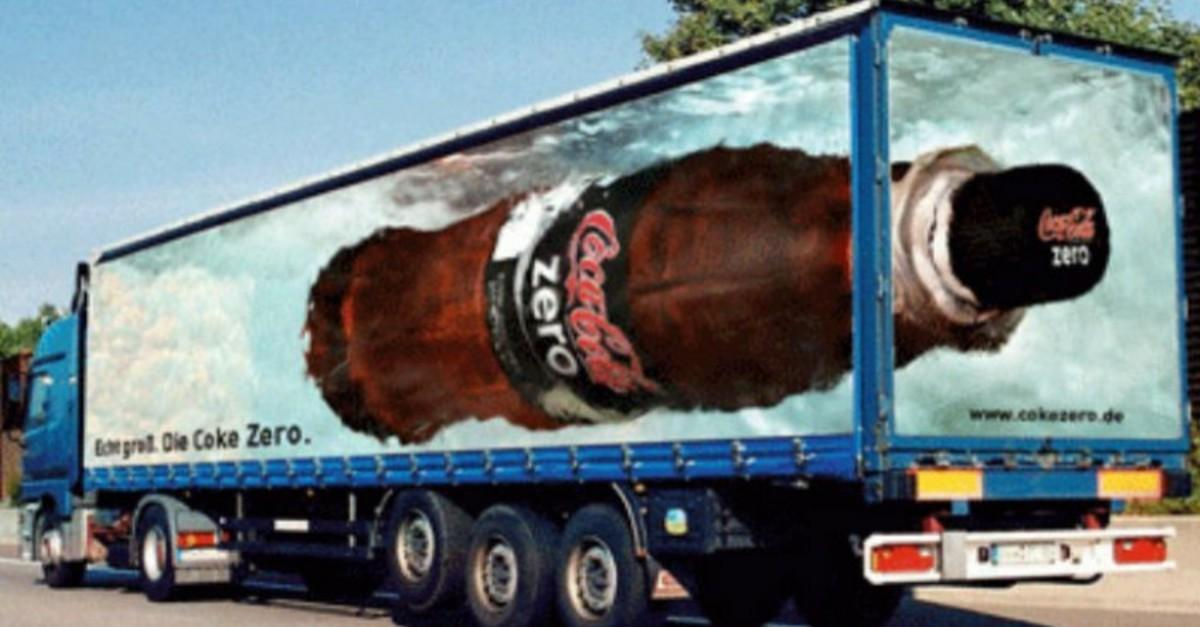 17+ 3D Truck Ads That Don't Fall Flat