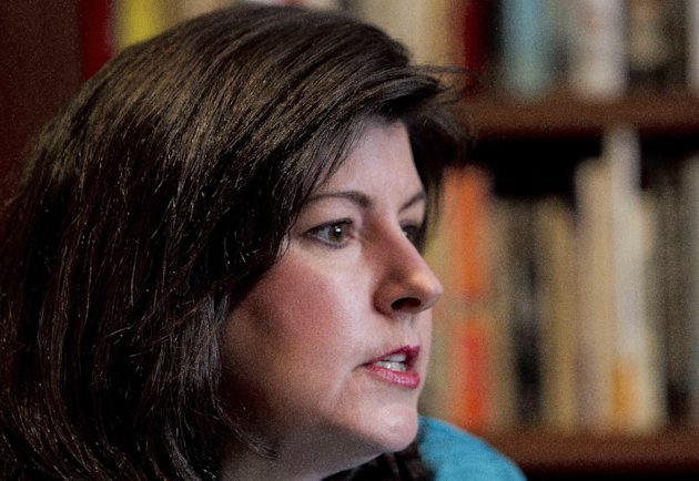 In this Feb. 7, 2012, photo, Karen Handel speaks during an interview in Atlanta. All of a sudden, abortion, contraception and gay marriage are at the center of American political discourse, with the struggling _ though improving _ economy pushed to the background. Social issues dont usually dominate the discussion in shaky economies. But they do raise emotions important to factors like voter turnout. Then, as the GOP nomination fight churned with no resolution in sight, the economy began to grow. Unemployment rates dipped. And a cascade of cultural political developments inspired a new set of talking points for the years crop of political hopefuls such as supporters of Planned Parenthood, which provides abortion services, helped force the resignation of Susan G. Komen For the Cure executive Handel after the breast cancer research group cut grants to the organization, then reversed course. (AP Photo/John Bazemore)