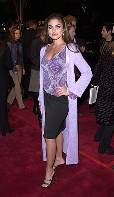 """Days of Our Lives"" star Nadia Bjorlin at the Hollywood premiere of Warner Brothers' Valentine"