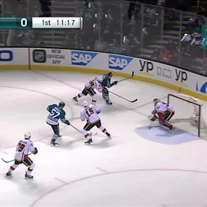 Wingels' goal cuts deficit
