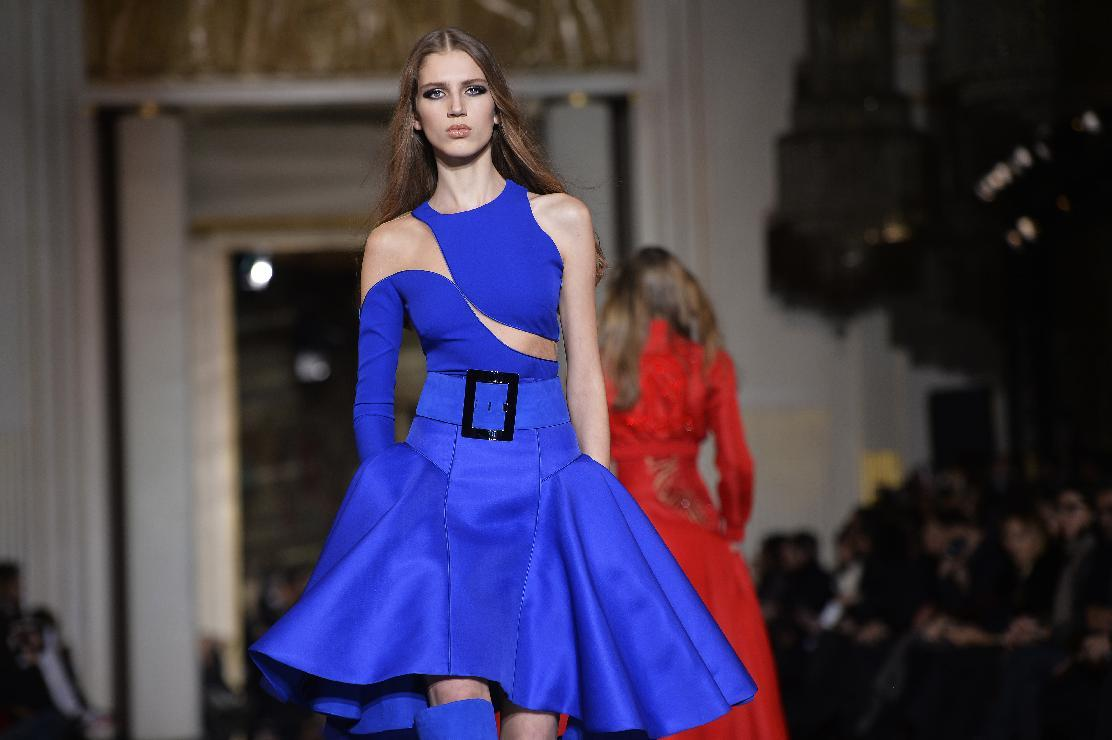Paris fashion week shifts up into Haute Couture mode