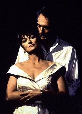 Meryl Streep and Clint Eastwood in The Bridges of Madison County