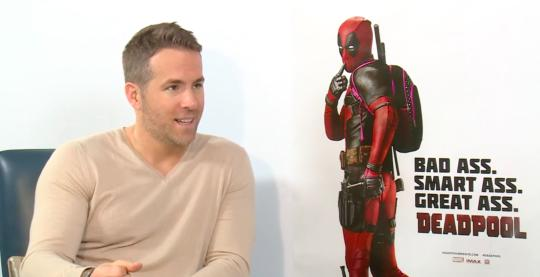 Ryan Reynolds dares studio staff: Try to take the Deadpool suit back from me. Try