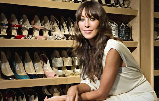 The sexy beauty you see in the photo above is the co-founder of high-end shoe line, Jimmy Choo. Click on for more sexy CEOs. (Business Insider photo)