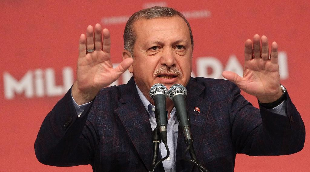 'Know your place', Turkey's Erdogan tells New York Times