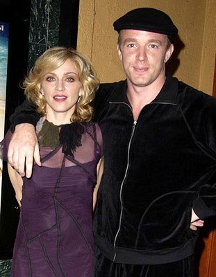 Madonna and Guy Ritchie at a Los Angeles screening of Screen Gems' Swept Away