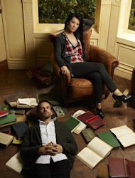 "This image released by CBS shows Jonny Lee Miller as Sherlock Holmes, left, and Lucy Liu as Watson from the new television series ""Elementary,"" premiering Thursday, Sept. 27, 2012 at 10 p.m. EST on CBS. (AP Photo/CBS, Nino Muñoz)"
