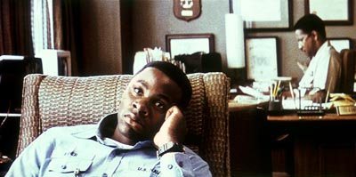 Derek Luke and Denzel Washington in Fox Searchlight's Antwone Fisher