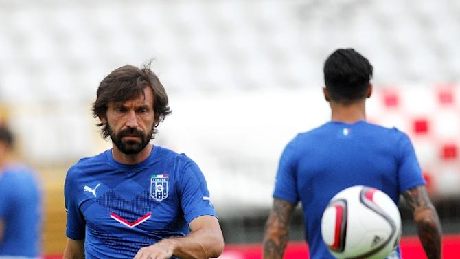 Andrea Pirlo was photographed last weekend at Yankee Stadium -- the home of baseball side New York Yankees and the home venue of New York City FC