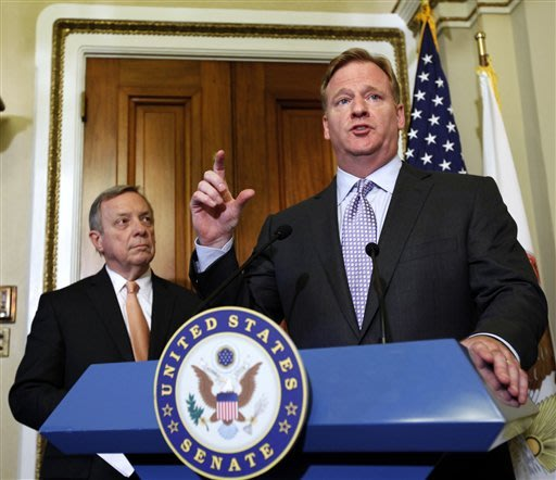 Senator sees Goodell, calls off bounty hearing