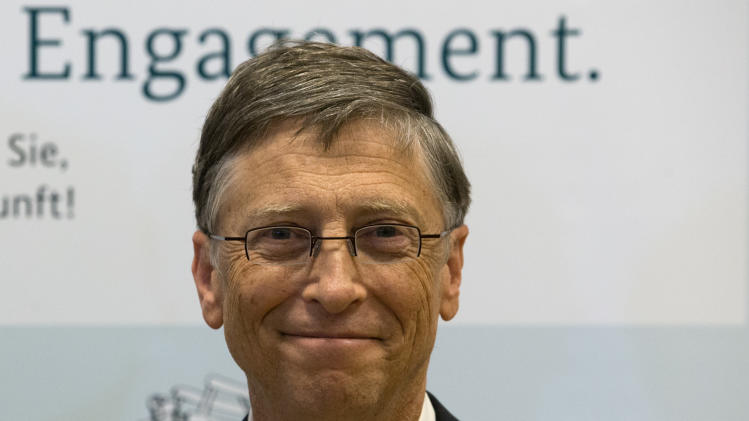 Germany, Gates in $108M anti-hunger drive