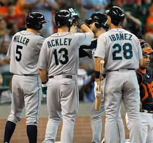 Franklin, King Felix help Mariners top Astros 12-5