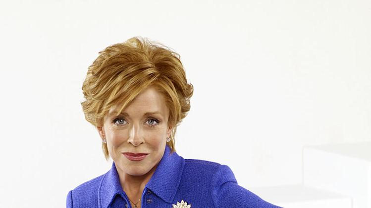 "Holland Taylor stars as Evelyn Harper in ""Two and a Half Men."""