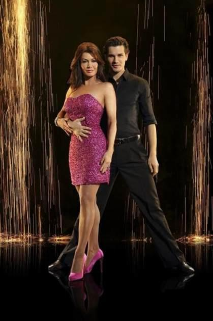 Lisa Vanderpump and  Gleb Savchenko, Season 16, 'Dancing with the Stars' -- ABC