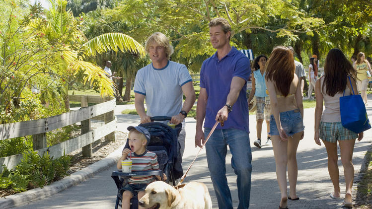 Owen Wilson Ben Hyland Eric Dane Marley & Me Production Stills 20th Century Fox 2008