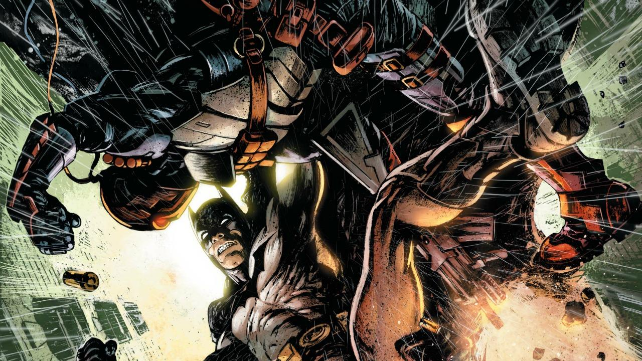 Variant Covers for SUPERMAN #39, DEATHSTROKE #5 & EARTH 2: WORLD'S END #21 Revealed