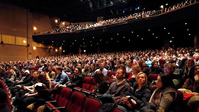 """A general view of the atmosphere at Fox Searchlight's """"The East"""" premiere during the Sundance Film Festival on Sunday, Jan. 20, in Park City, Utah. (Photo by Todd Williamson/Invision for Fox Searchlight/AP Images)"""