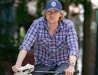 pst Owen Wilson Biking