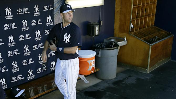 First of many finals for Jeter as training starts