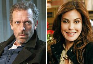 Hugh Laurie, Teri Hatcher | Photo Credits: Adam Taylor/FOX, Ron Tom/ABC