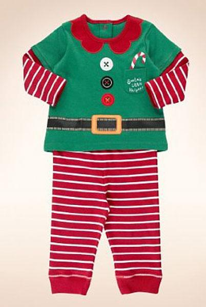 2 Piece Pure Cotton Elf Outfit