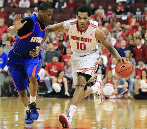 Thomas scores 22 points in No. 7 OSU's 85-45 win