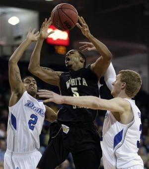 Nick Wiggins, Wichita State beats Drake 75-63