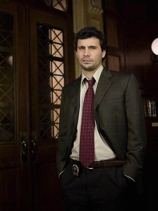 "Jeremy Sisto as Cyrus Lupo on ""Law & Order."""
