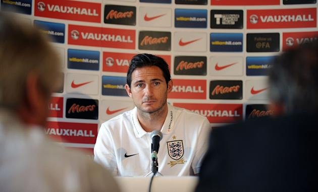 Soccer - FIFA World Cup Qualifying - Group H - Ukraine v England - England Press Conference - The Grove Hotel
