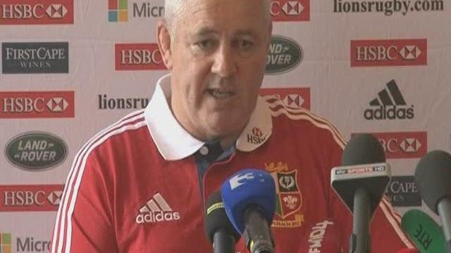 Gatland moving on from Wilkinson