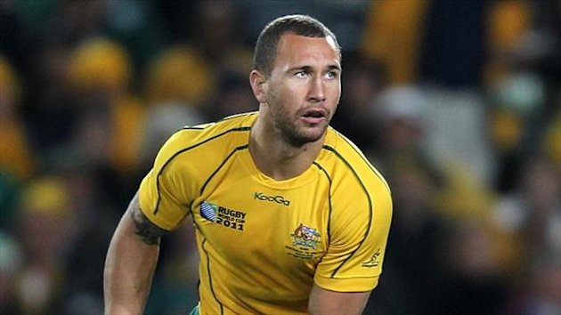 Quade Cooper played no part in the series defeat against the Lions