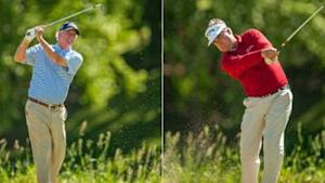Cochran and Perry tied for second-round lead
