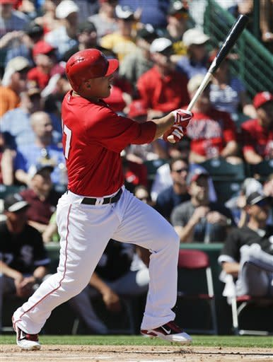 Trout homers for Angels in win over WSox