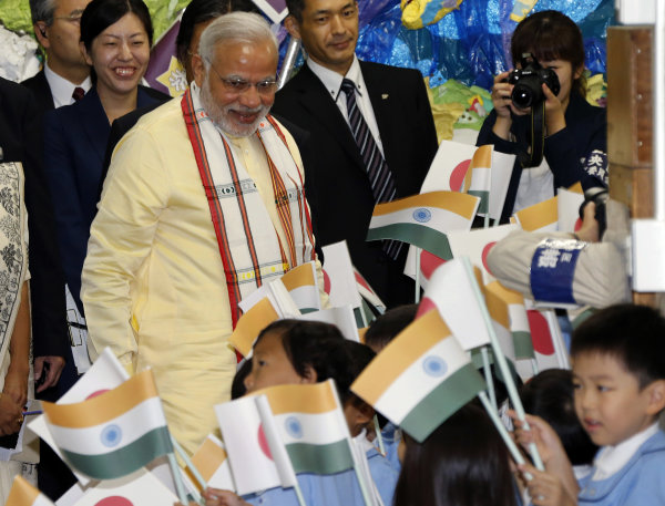 Modi visit draws pledges of support from Japan