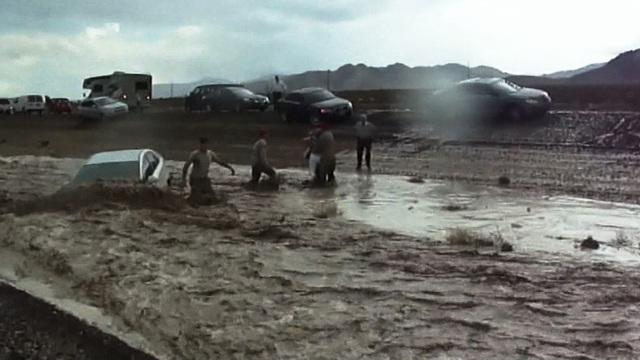 Airmen honored for rescuing woman trapped by floodwaters