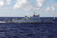 &lt;p&gt;A Chinese marine surveillance ship cruises near the disputed archipelago (Senkaku island in Japanese, or Diaoyu Islands in Chinese) in the East China Sea on September 14. Thousands of anti-Japanese demonstrators have mounted protests in cities across China over disputed islands in the East China Sea, a day after an attempt to storm Tokyo&#39;s embassy in the capital.&lt;/p&gt;