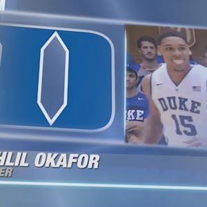 Jahlil Okafor Dominates Duke's Countdown to Craziness