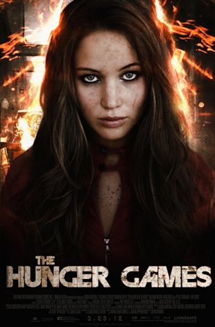 hunger games movie poster jennifer lawrence
