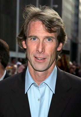 Director Michael Bay at the New York premiere of Dreamworks' The Island
