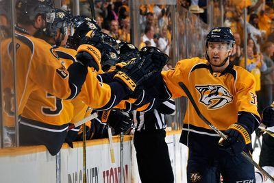 NHL playoffs 2015: Colin Wilson puts slump behind him with strong Game 1