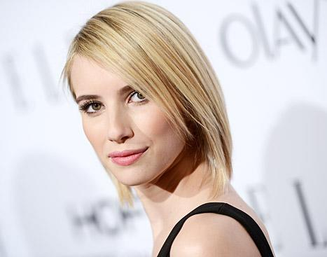 Emma Roberts Debuts Chic New Bob Haircut: See a Picture!