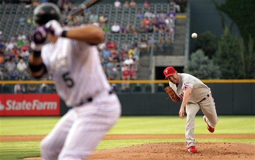 Friedrich helps Rockies top Phillies 6-2