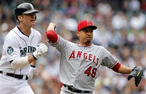 Morales drives in 2 in Angels' 4-2 win in Seattle