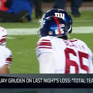 NFL Now: Jay Gruden: 'Total Team Debacle'