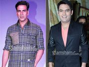 Kapil Sharma back with 'Comedy Nights'; shoots with Akshay Kumar and Kangana Ranaut
