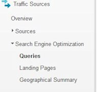 Using Google Webmaster Tools to Generate Content Ideas image analytics seo