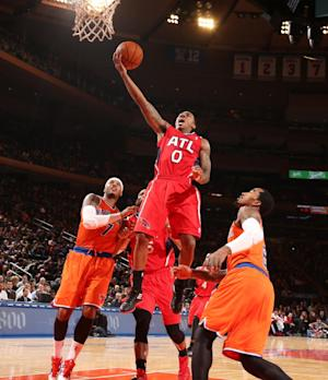 Hawks send Knicks to 5th straight home loss