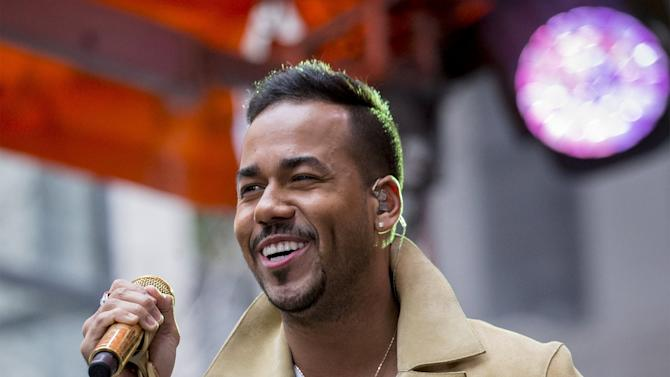 Singer Romeo Santos performs on NBC's 'Today' show in New York